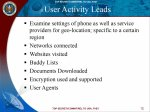 Slide de apresentação interna da NSA com tópicos de monitoramento em massa.